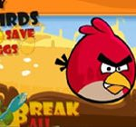 Angry birds save the eggs