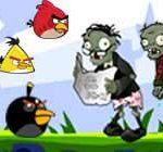 Angry birds vs zombies